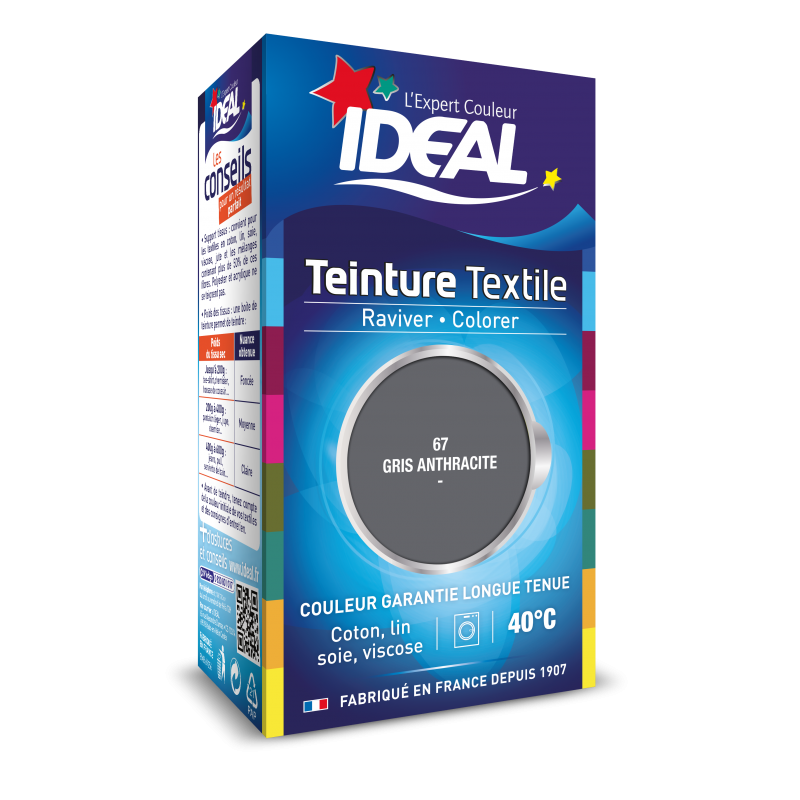 Teinture Liquide Ideal Mini Gris Anthracite