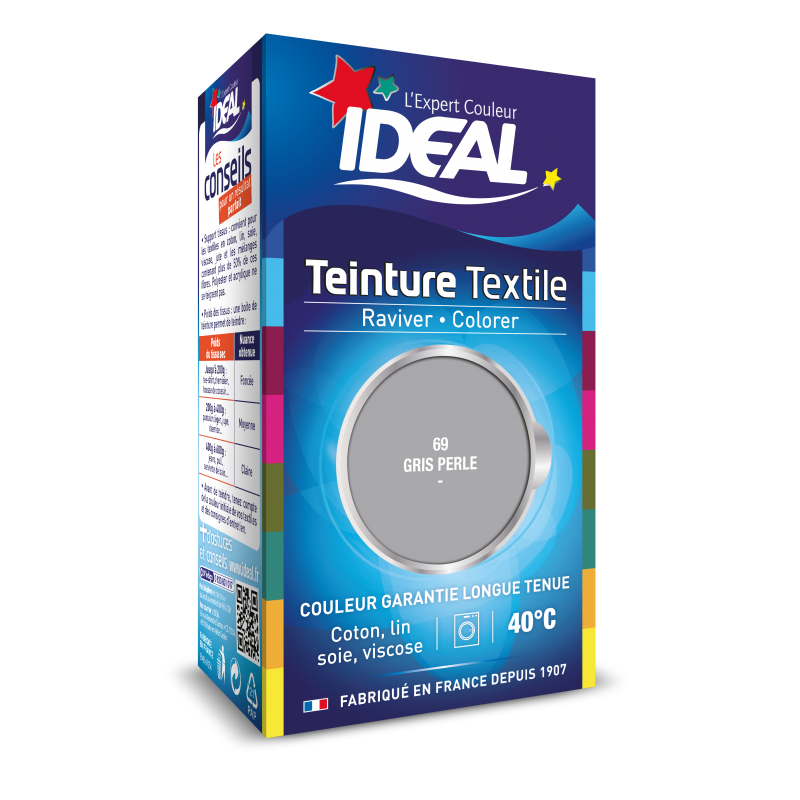 Teinture IDEAL Liquide Mini Gris Perle