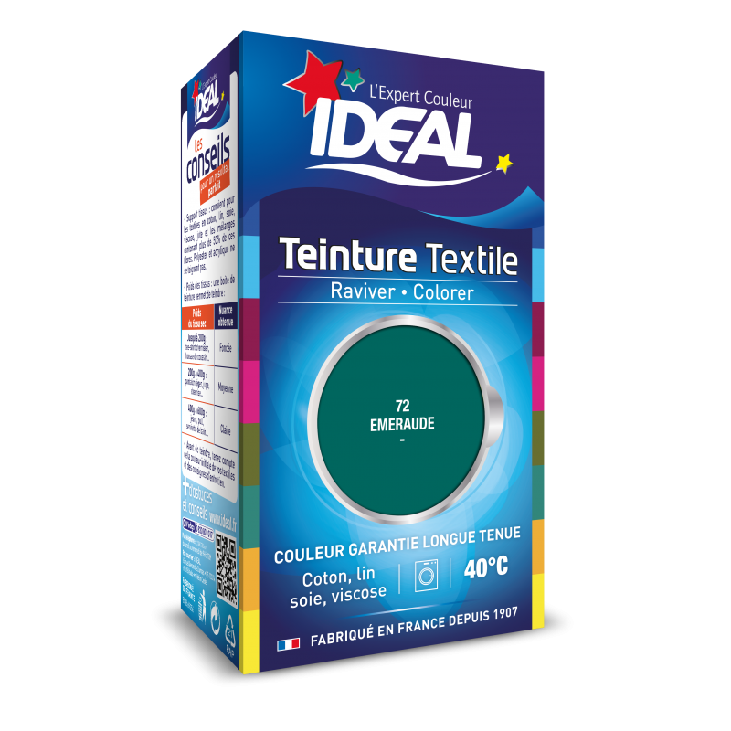 Teinture IDEAL Liquide Mini Emeraude