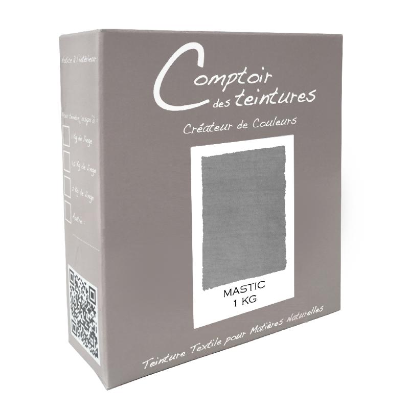 Mélange Mastic - Teinture Textile pour Coton, Lin, Soie et Viscose