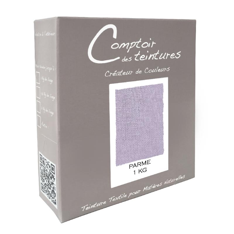 Mélange Parme - Teinture textile pour lin, soie, coton et viscose