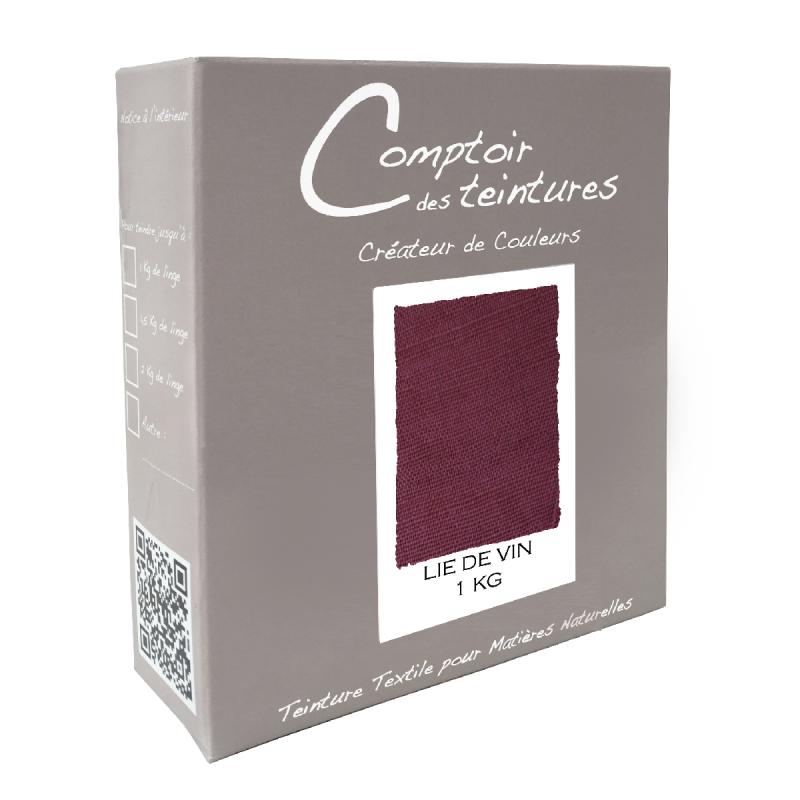 Mélange Lie de Vin - Teinture Textile pour Lin, Soie, Coton et Viscose