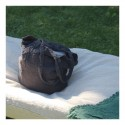 Shopping bag anthracite en Lin brut