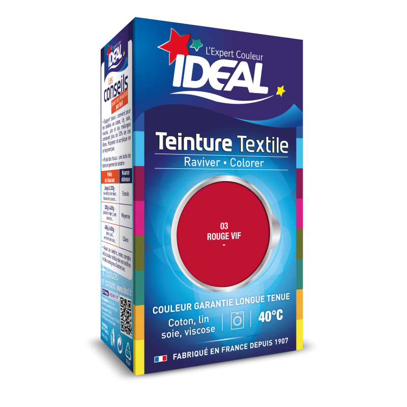 Teinture IDEAL Liquide Mini Rouge Vif