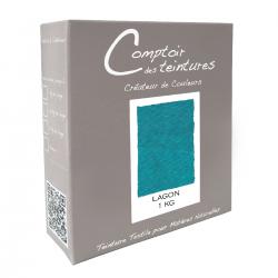 Mélange Lagon - Teinture Textile pour lin, soie, coton et viscose