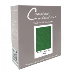 Teinture Textile, Mélange Vert Gazon pour Lin, Soie, Coton et Viscose