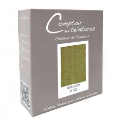 Mélange Avocat : Teinture Textile pour coton, lin, soie, viscose