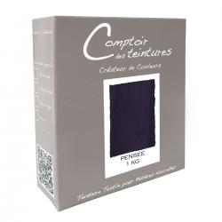 Mélange Pensée - Teinture Textile pour Lin, Soie, Coton et Viscose
