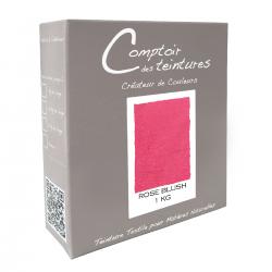 Mélange Rose Blush - Teinture textile pour lin, soie, coton et viscose