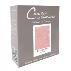 Mélange Rose Ballerine - Teinture textile pour lin, soie, coton et viscose
