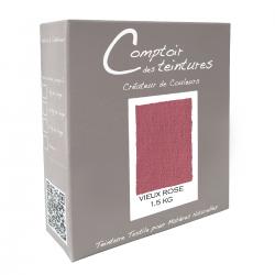 Mélange Vieux Rose - Teinture textile pour lin, soie, coton et viscose