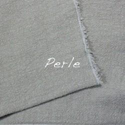 Coussin Rectangulaire en lin brut Perle