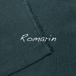 Coussin Rectangulaire en lin brut Romarin