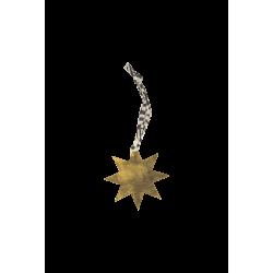 Breloque étoile dorée
