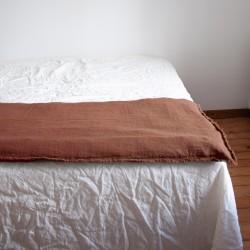 Sofa Cover lin brut Santal